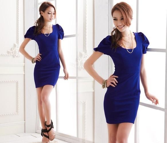 Tube Top A Slim Dress Immediately Make You A Modern Office Girl