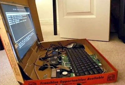 Un PC boite à pizza !