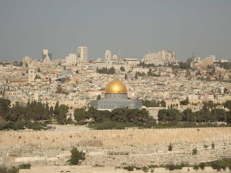 Jerusalén: Monte de los Olivos