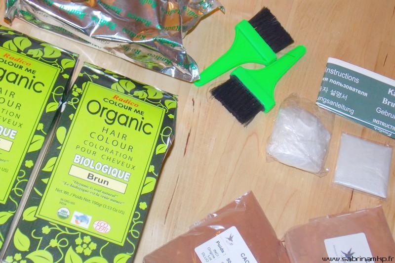 jai command dans la boutique daudrey hennesetsoinsdailleurs la couleur marron brun et brun fonc avec deux poudres colorantes cachou et cacao - Coloration Bio Pharmacie