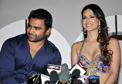 SunnyLeone with Sachin Drink