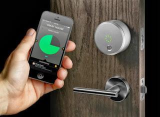 Smartphone lock Portland locksmith