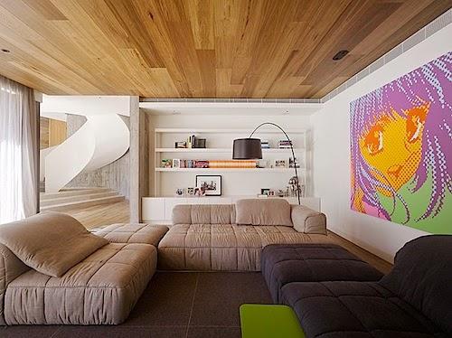 desain plafon kayu