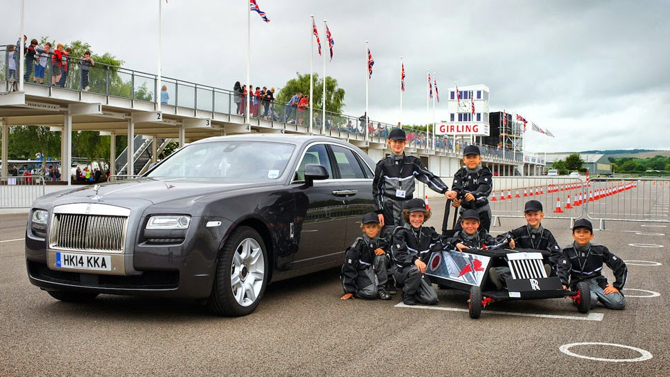 John Eagle European Rolls Royce Sponsors Kids Racing Team