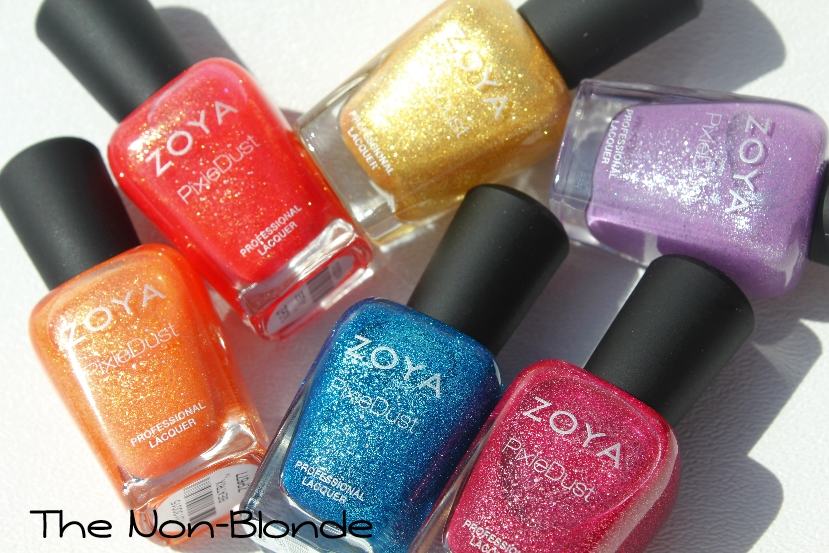 Zoya Pixie Dust Nail Polish Collection | The Non-Blonde