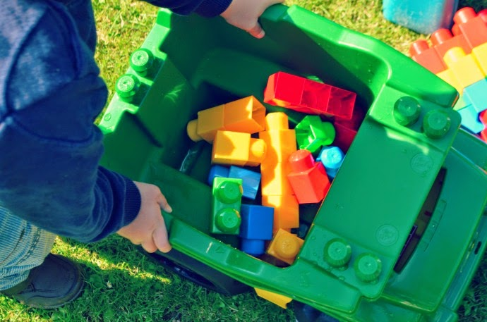 Playing Outdoors with Megablocks