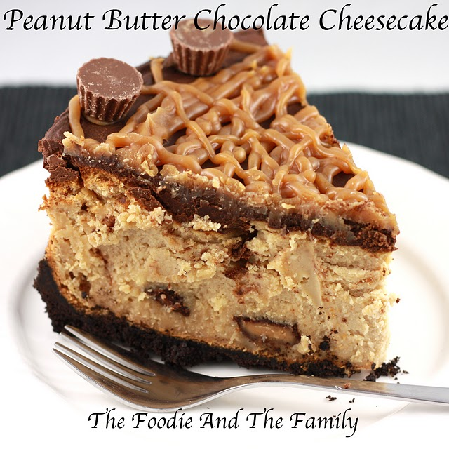The Johnsons Cook: Peanut Butter Chocolate Cheesecake