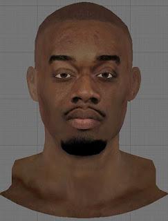 NBA 2K13 Carl Landry Cyberface Patch