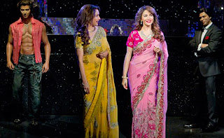 Madhuri Dixit, Hrithik and SRK Wax Statue