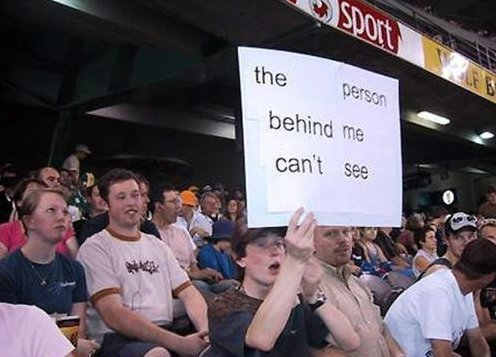 funny sports fan signs, sports signs