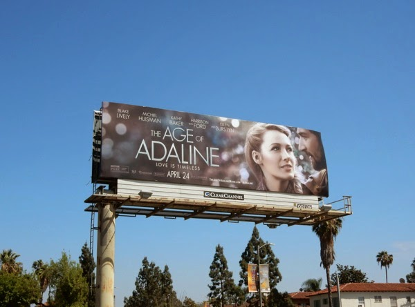 Age of Adaline movie billboard