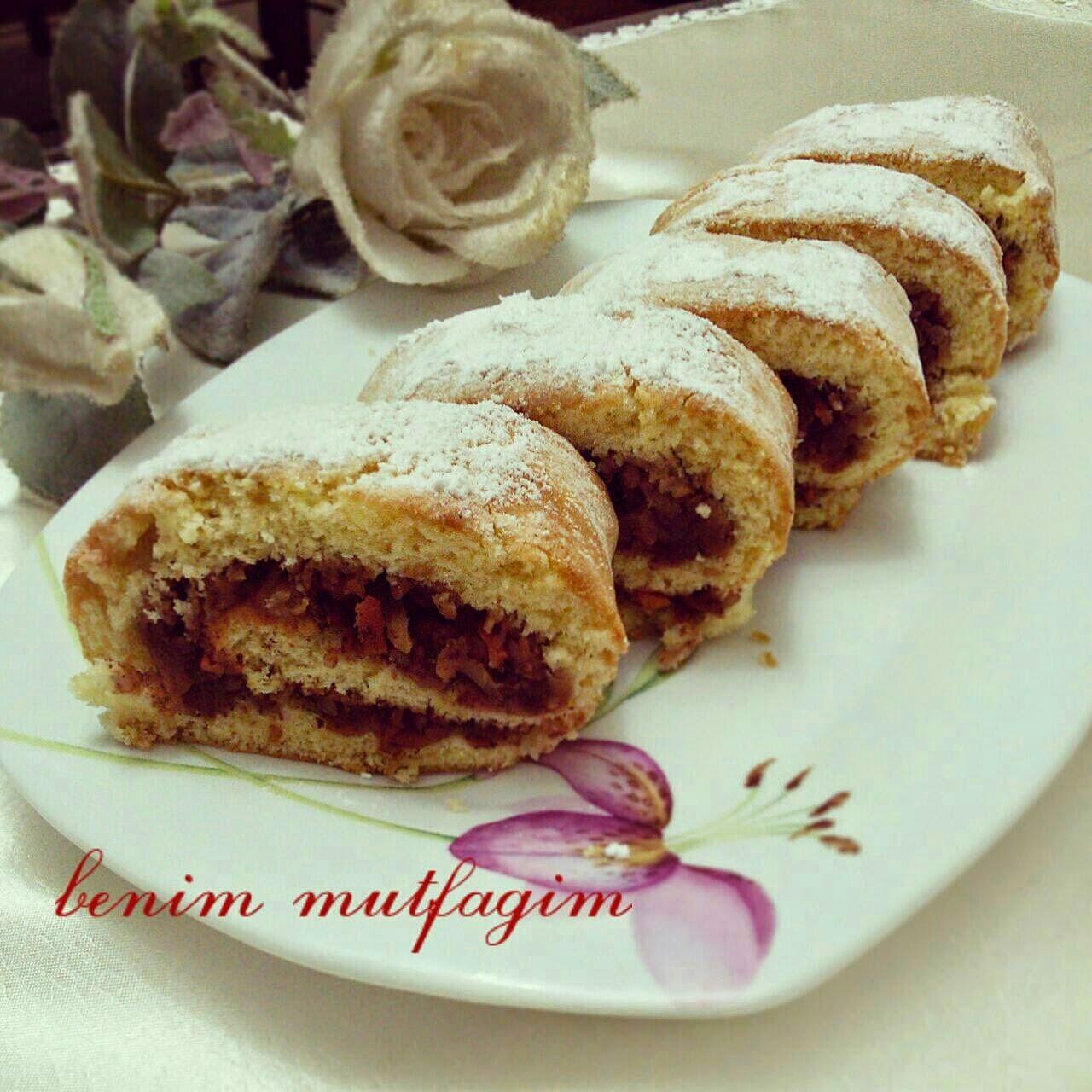 Elmalı Rulo Pasta Videosu