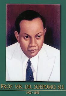 gambar-foto pahlawan kemerdekaan indonesia, Prof.DR.Soepomo