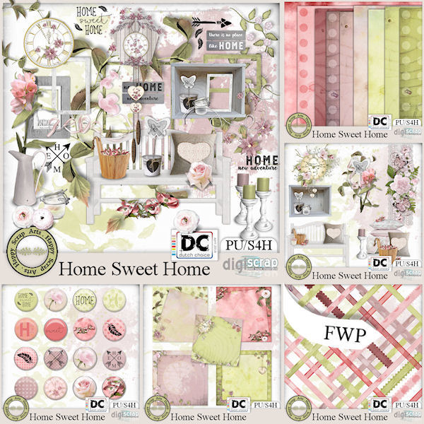 April 2018 - HSA HomeSweetHome bundel