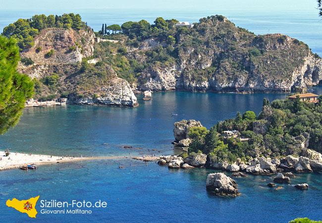 Isola Bella in der Bucht von Taormina
