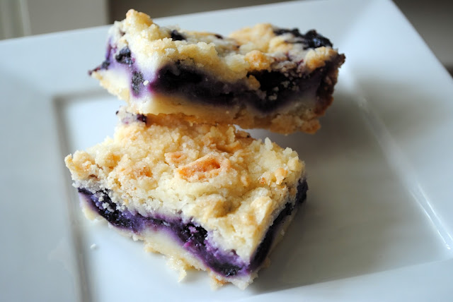 blueberry pie treat bars