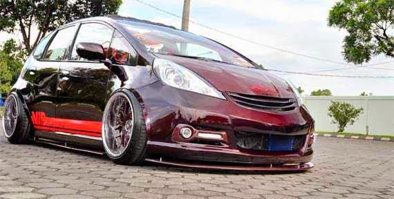 modifikasi honda jazz idsi