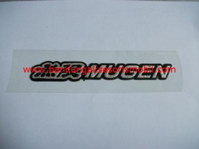 Emblem Metalik Besar Exclusive Mugen Hitam