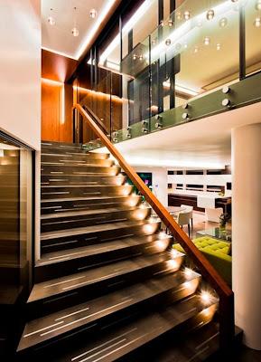 moderno diseño escalera
