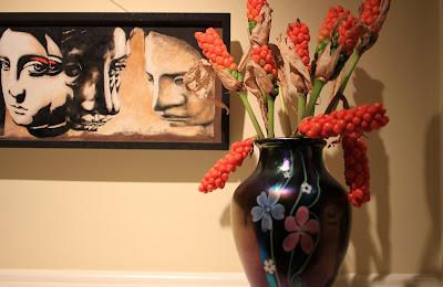 Orient and Flume Vase - Arum Italicum