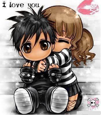 balahop emo love cartoons