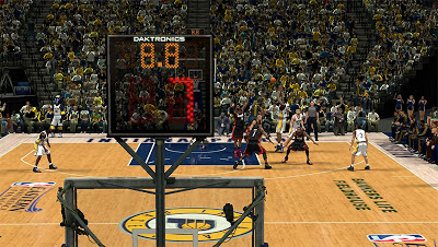 NBA 2K13 Indiana Pacers New Shot Clock Texture
