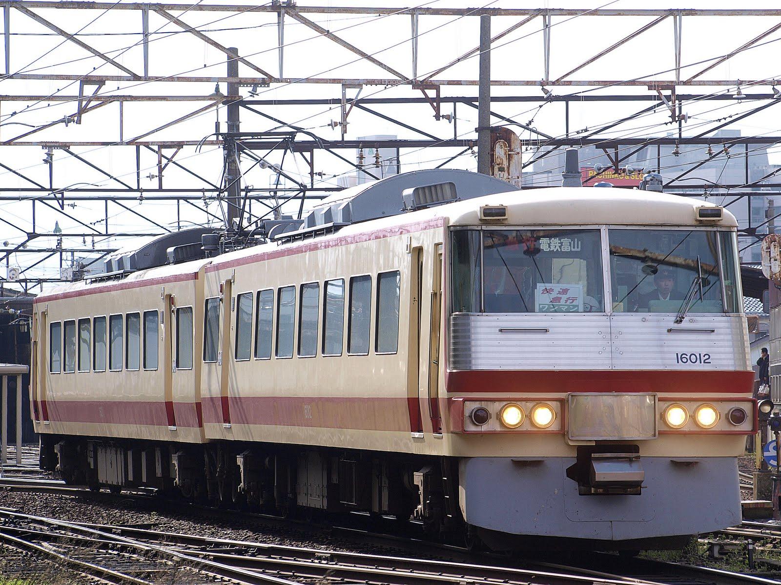 4月8日の富山地鉄・RA兄さん快速急行他