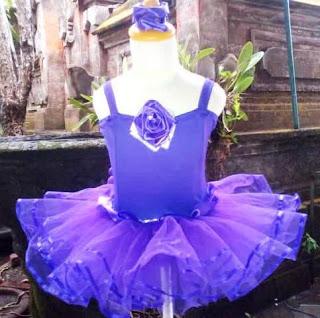 Contoh Baju Balet Anak Warna Ungu