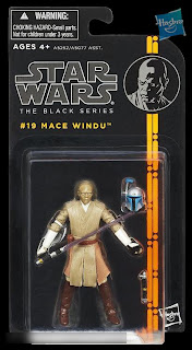 "Hasbro Star Wars The Black Series - Series 2 - 3.75"" Mace Windu Figure"