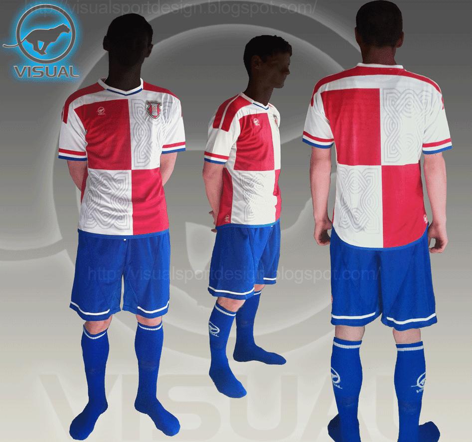 Design a t shirt kit - 2014 Croatia Football Kit Jerkovic Brasil World Cup Design