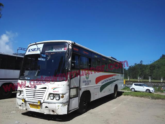 KSRTC bus via Mysore to Munnar from Bnagalore. Bangalore to Munnar via Mysore Kozhikode Air bus