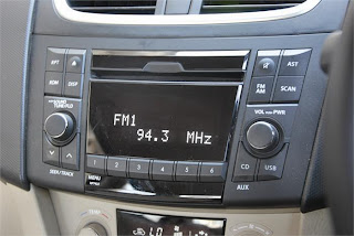 New Maruti Swift Dzire Zdi music system