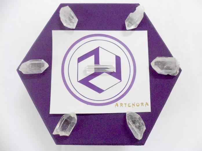 Caja para Red de Reiki y Cristales