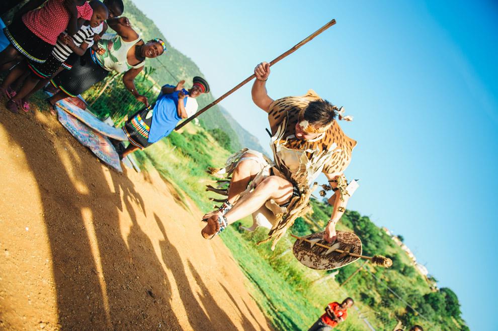 Boda en Durban, por el rito zulú