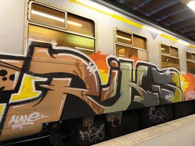 RIKS graffiti