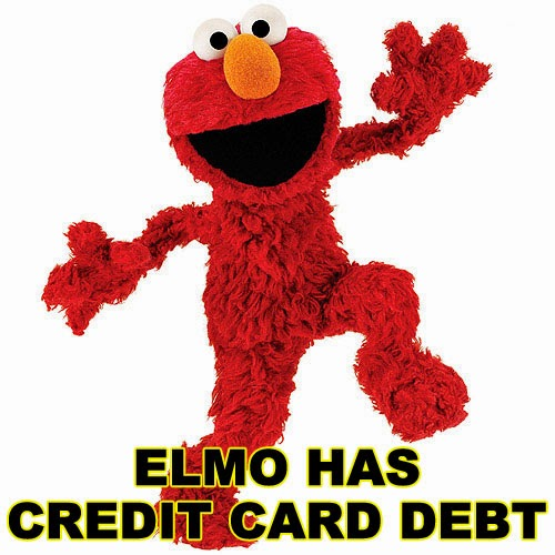 Elmo Has Credit Card Debt
