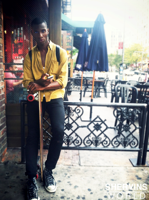 hipster dude, east village fashion, shervins world