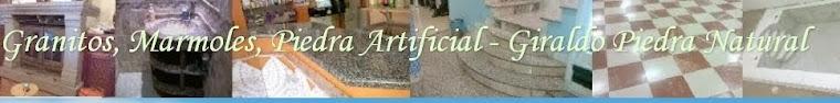 Granitos, Marmoles, Piedra Artificial - Giraldo Piedra Natural