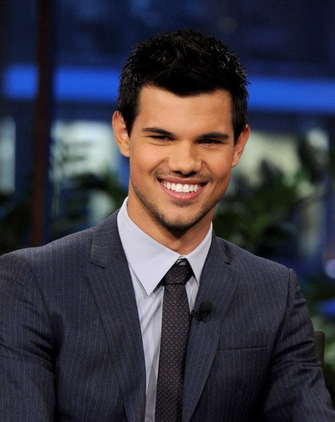 Taylor Lautner No Jimmy Fallon