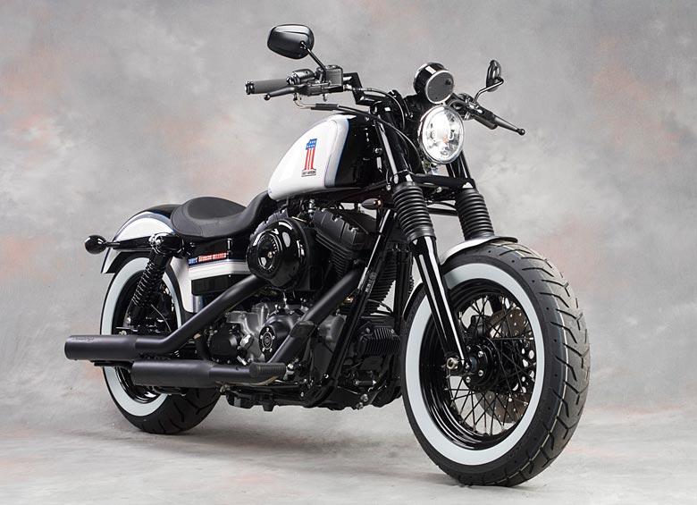 Bobber su base Harley Davidson