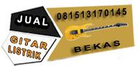 informasi penjualan gitar listrik bekas