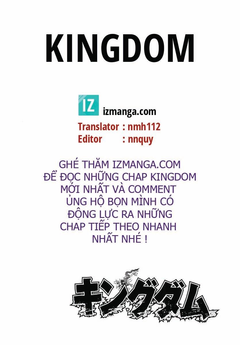 Kingdom – Vương Giả Thiên Hạ chap 1 Trang 9