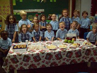 Montgomery Catholic Kindergarteners Celebrate Johnny Appleseed's Birthday 1