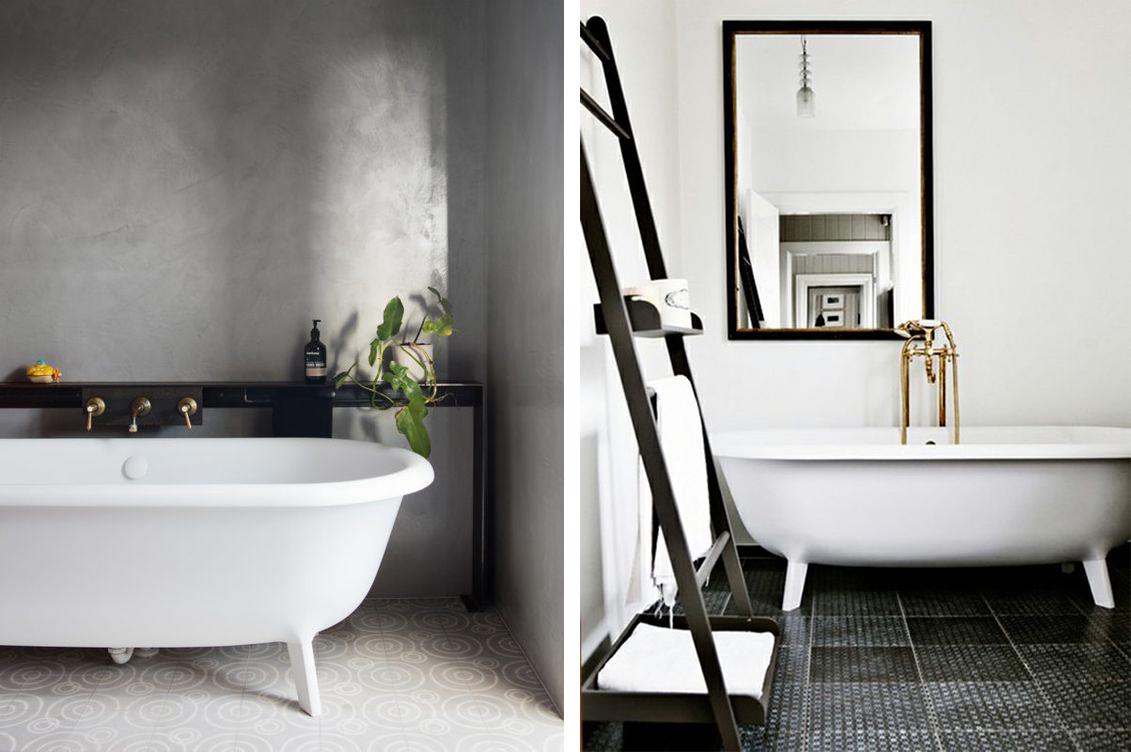 baignoire blanche peinture salle de bains quelle couleur choisir pour espace peinture salle de. Black Bedroom Furniture Sets. Home Design Ideas