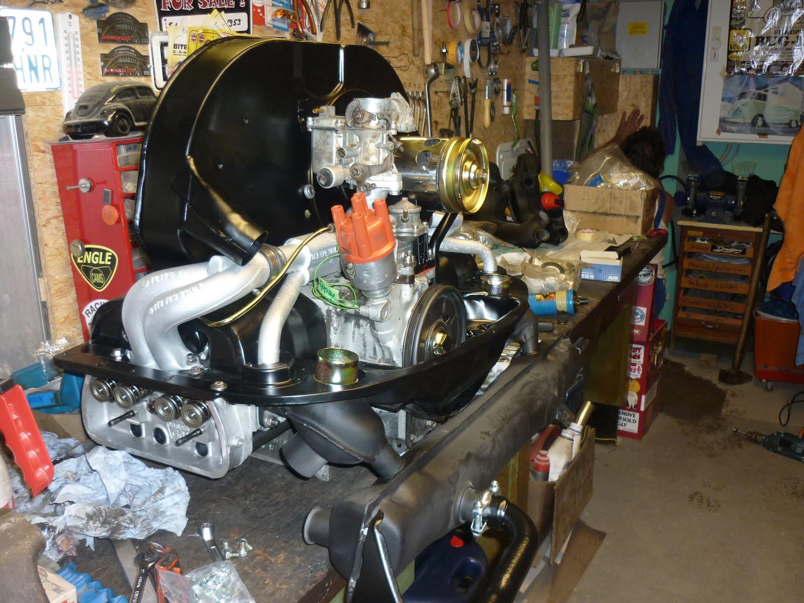 speedshop vw bus t1 neuer motor. Black Bedroom Furniture Sets. Home Design Ideas