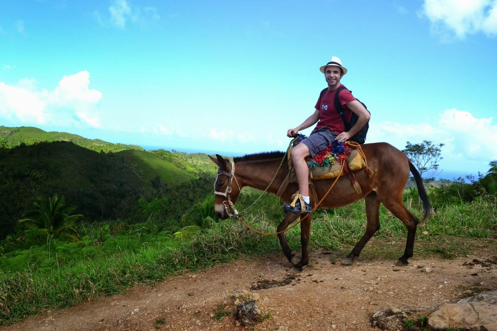 cascadas de el limon, samana, republica dominicana, blog de viajes
