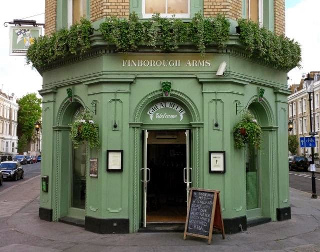 My new pub, the Finborough Arms