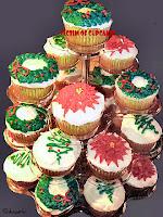 """Christmas Cupcake """"Tree"""""""