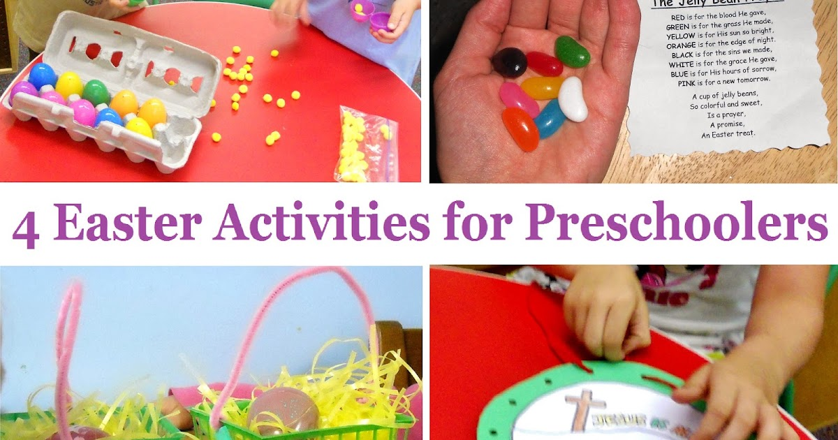Princesses Pies Preschool Pizzazz 4 More Easter Activities For Presc