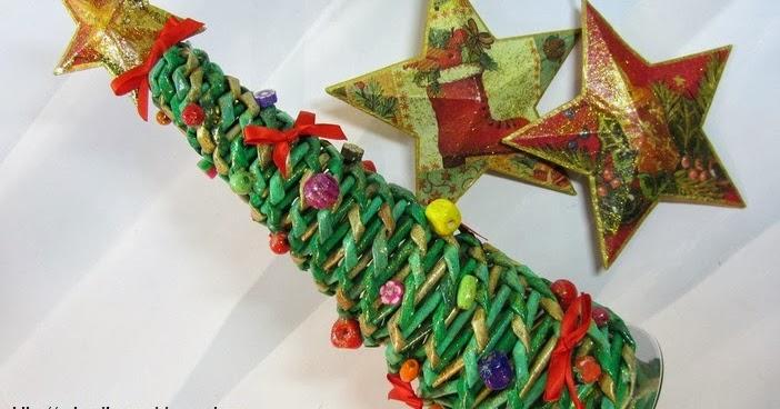 Diy rbol de navidad con papeles para decorar el hogar for Decoracion del hogar en navidad